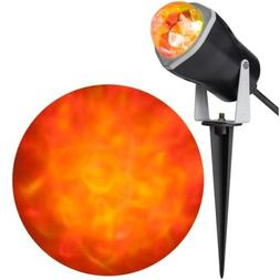Halloween Outdoor Decoration LED Fire & Ice Spot Light Effec