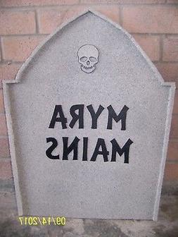 Halloween Tombstone Gravestone Wood Yard Decor. 23.5 inches