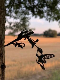 Hammer In Hummingbird Garden Yard And Metal Art