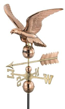 Good Directions Handcrafted Smithsonian Eagle Weathervane, P