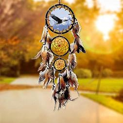 Willcomes Handmade Eagle Dream Catcher Wind Chimes Indian St