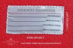 Handmade Felt Stocking Kit Label for Bucilla Stockings