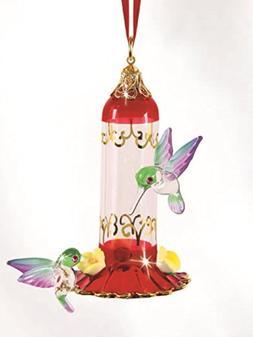 Glass Baron Hanging Hummingbird Feeder