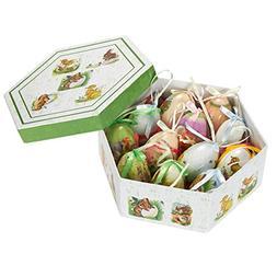 Hanging Mini Easter Egg Ornaments Decorations - Multicolor B