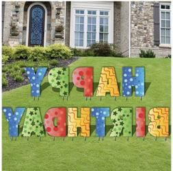 Happy Birthday Lawn Sign Letters. Yours To Keep!!