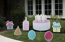 Happy birthday Lawn Signs Decorations. Yours To Keep!!