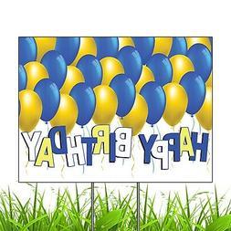 Happy Birthday Yard Decoration