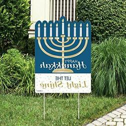 Big Dot of Happiness Happy Hanukkah - Party Decorations - Ch