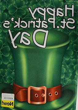 Darice Happy Saint Patricks Day Garden Flag Top Hat