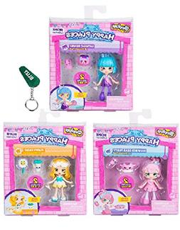 Happy Places Shopkins Season 2 Doll Set Of 3 - Candy Sweets,