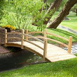 harrison wood garden bridge