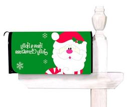 Evergreen Have a Holly Jolly Christmas Magnetic Mailbox Cove