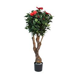 """Pure Garden 48"""" Hibiscus Tree with Flowers"""