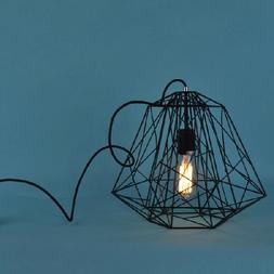 LightInTheBox Hive Pendant,1 Light, Creative Black Iron Pain