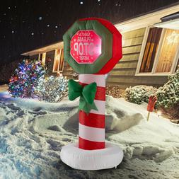 Holiday/Christmas Inflatable Decoration 4 FT Lighted Sign LE