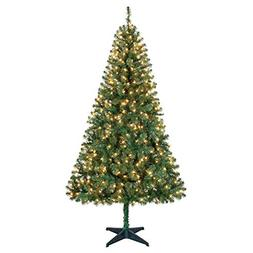 Holiday Time 6.5ft Pre-Lit Madison Pine Artificial Christmas