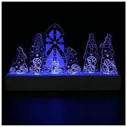 Giftgarden LED Nativity Set Christmas Decoration Holy Family
