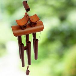 Home Decor Wind Chimes Garden Outdoor Living Relaxing Bamboo