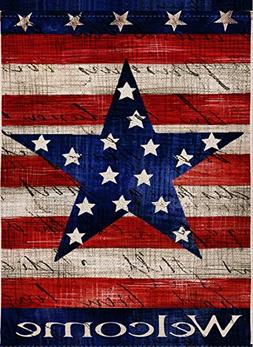 Dyrenson Home Decorative Large 4th of July Patriotic Star Ho