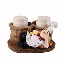 Home Decorative Resin Kitchen Chef Cook Figurine Statue Figu