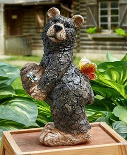 HONEY BEE BEAR STATUE GARDEN YARD ART LAWN SCULPTURE SPRING