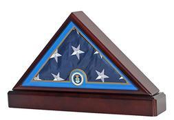 Honorable U.S. Air Force Flag Display Case USAF Military Sha