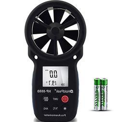 HOLDPEAK 866B Digital Anemometer Handheld Wind Speed Meter f