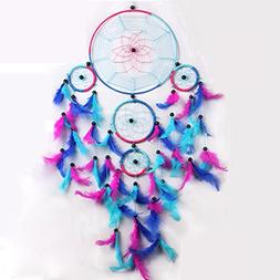 Blue Red Dream Catcher Wall Hanging Decorations, Malicosmile