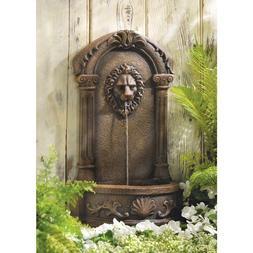 Indoor Outdoor Garden Decorative Fashionable Lion's Head Cou