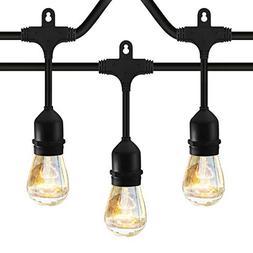 Classyke 48ft Indoor Outdoor String Lights for Patio Garden