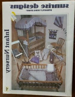 Sunrise Designs Infant Nursery N1000 home decor SEWING PATTE