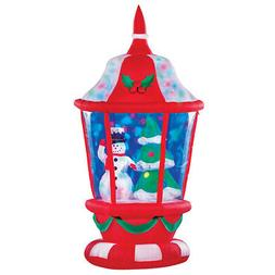 Collections Etc Inflatable Christmas Lantern Outdoor Decorat