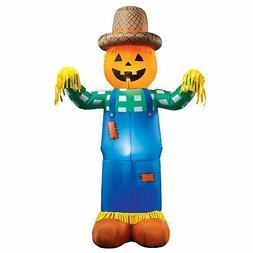 Inflatable Harvest Scarecrow Halloween Yard Decoration