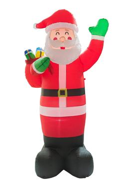 8Ft Inflatable Santa Claus Holiday Garden Mall Decoration Xm