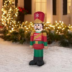 Inflatable Nutcracker Soldier - Christmas Airblown - 4ft tal