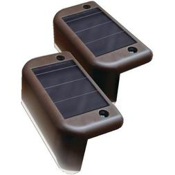 Maxsa Innovations 47332 Solar-powered Deck Lights, 4pk, ,