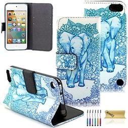 iPod Touch 5 Case, iPod Touch 6 Case, Dteck Fancy Cute PU Le