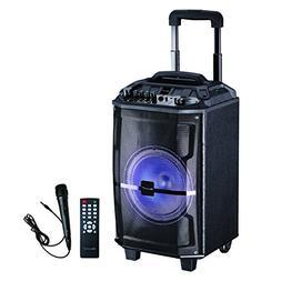 IQ Sound Audio DJ Party Lights Loud Speakers Bluetooth Wirel