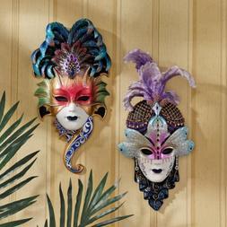 Italian Venetian Art Decor Carnival Masquerades Maidens Wall