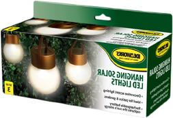 IdeaWorks JB6638 Hanging Solar Led Lights, copper and Froste