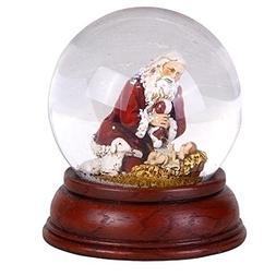 "5"" Joseph's Studio Kneeling Santa with Baby Jesus Christmas"