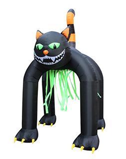 BZB Goods Jumbo 13 Foot Tall Halloween Inflatable Black Cat