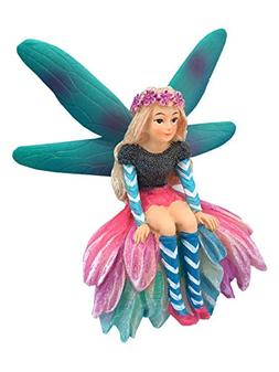 GlitZGlam Katrina the Garden Fairy - a Miniature Fairy Statu