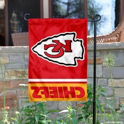 KC Chiefs Garden Flag and Yard Banner