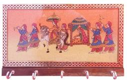 Key Chain Holder Made with Indian Marriage Bidai Ceremony Ge