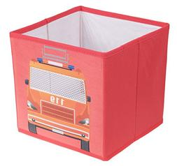 Clever Creations Fire Truck Collapsible Storage Organizer Fi