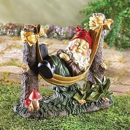 Koehler Home Decor Slumbering Gnome Garden Statue