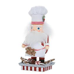 Kurt Adler Hollywood Santa Gingerbread Chef Nutcracker, 12-I