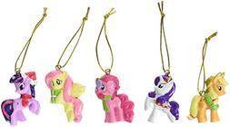 My Little Pony Kurt Adler 5-Piece Resin Ornament Set