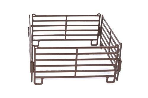 1/16 Brown Priefert Panel 4 Piece Fence Set - Little Buster